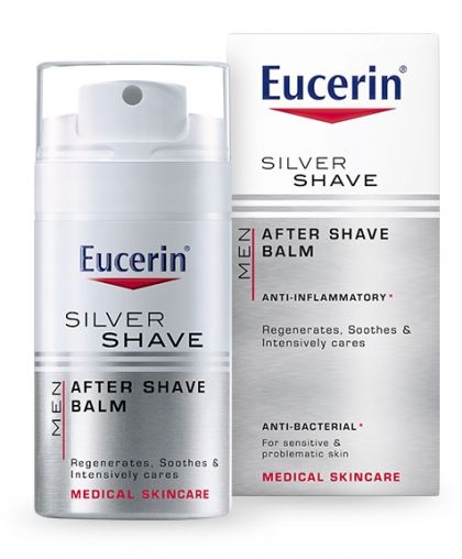 Eucerin Men Micro Silver Aftershave balm