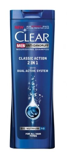 Clear Men Classic Action 2in1 250мл